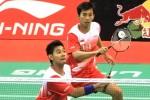 THOMAS CUP-UBER CUP 2014 : Angga/Rian Bawa Tim Thomas Indonesia Juarai Grup A
