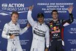 KUALIFIKASI GP F1 SPANYOL : Hamilton Pole Lagi, Mercedes Start 1-2