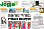 HARIAN JOGJA HARI INI : Diserang Wiranto, Prabowo Tersenyum