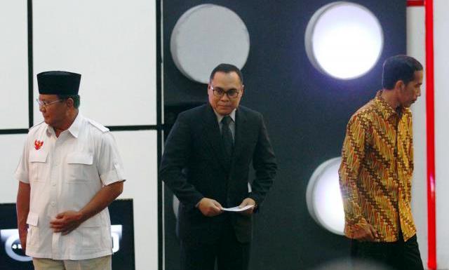 DEBAT CAPRES 2014 : Jokowi-JK dan Prabowo-Hatta Saling Serang