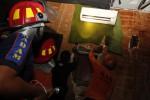 FOTO KEBAKARAN SOLO : Nuansa Karaoke Terbakar Gara-Gara Korsleting