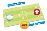 TEBAK SKOR PIALA DUNIA 2014 : Argentina vs Swiss