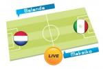 TEBAK SKOR PIALA DUNIA 2014 : Belanda vs Meksiko