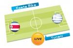 TEBAK SKOR PIALA DUNIA 2014 : Kosta Rika vs Yunani