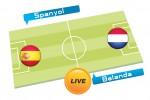 Tebak Skor Piala Dunia 2014 : Spanyol vs Belanda