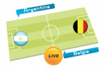 TEBAK SKOR PIALA DUNIA 2014 : Argentina vs Belgia