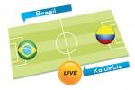 TEBAK SKOR PIALA DUNIA 2014 : Brasil vs Kolumbia
