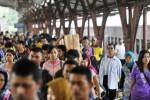 MUDIK LEBARAN 2014 : Penumpang KA Daops IV Semarang Naik, Capai 252.117 Orang