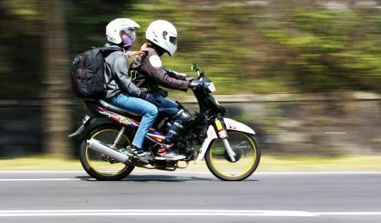 INOVASI SISWA : Pelajar SMK Temanggung Rakit Sepeda Motor Berbahan Bakar Elpiji