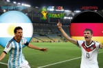 TEBAK SKOR PIALA DUNIA 2014 : Final Piala Dunia 2014 Jerman vs Argentina