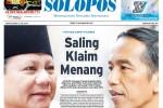 HASIL PILPRES 2014 : Media Asing Soroti Klaim Kemenangan 2 Kubu