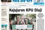 SOLOPOS HARI INI: Kejujuran KPU Diuji, Muslim Soloraya Kecam Israel hingga Kegiatan Jokowi di Solo