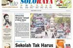 SOLOPOS HARI INI : Soloraya Hari Ini: Skandal Keraton Surakarta, Kabar Lalu Lintas Kota hingga Penerapan Kurikulum 2013