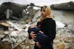 KRISIS PALESTINA : Korban Aksi Serangan Israel ke Gaza Capai 186 Orang
