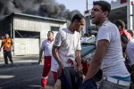 ISRAEL SERANG GAZA : Israel Serang Pasar di Gaza, 17 Warga Tewas