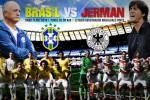 HASIL AKHIR JERMAN VS BRASIL : Der Panzer Lumatkan Samba 7-1, Klose Top Skor Sepanjang Sejarah Piala Dunia