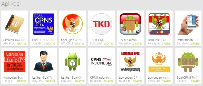 Lowongan Cpns 2014 Pengembang Buat Aplikasi Tes Cpns Cat
