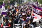 LANJUTAN ISL 2014 : AREMA VS PERSIK KEDIRI : Ratusan Persikmania Tetap Datang ke Malang
