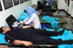 FOTO DONOR DARAH : Insan Usaha Grup Solopos Sumbang Darah
