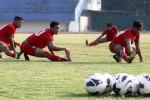 FOTO PERSIS SOLO VS PSPS PEKANBARU : Persis Solo Berlatih di Stadion Manahan