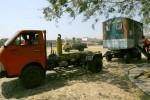 FOTO WORLD MILITARY PARACHUTING CHAMPIONSHIP : Toilet untuk Kejuraan Terjun Payung Militer