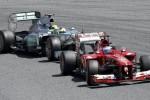 GP FORMULA ONE ITALIA : Ferrari Diadang Rintangan di Kandang