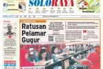 SOLOPOS HARI INI : Soloraya Hari Ini: Penutupan Pendaftaran CPNS Solo hingga Musibah Kekeringan Soloraya