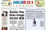 SOLOPOS HARI INI : Soloraya Hari Ini: Demi CPNS Solo, Kantor Pos Buka Hingga 00.00 WIB hingga Kejuaraan Terjun Payung