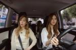 AKTIVITAS SNSD : Seohyun Setir Mobil Bikin Taeyeon dan Tiffany Takut