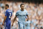 MANCHESTER CITY VS CHELSEA : Lampard Bikin Gol, 10 Pemain City Imbangi Chelsea