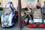 FOTO INDONESIA ENERGY MARATHON CHALLENGE 2014  : Peserta Lomba Mobil Hemat Energi Siap Bersaing