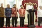 FOTO PENGUMUMAN KABINET JOKOWI-JK : DPR Dukung Nomenklatur Kabinet Jokowi-JK