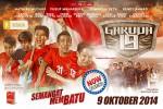 "AGENDA SOLORAYA HARI INI : Klangenan Jumat (10/10/2014): Film Garuda 19 ""Sambut"" Laga Perdana Timnas U-19"