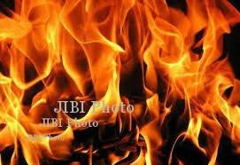 KEBAKARAN SRAGEN : Rumah Terbakar, Sapi Mati Terpanggang