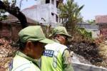 FOTO KEBAKARAN SOLO : Lahan Kosong di Jagalan Dilalap Api