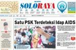 SOLOPOS HARI INI : Soloraya Hari Ini: PSK Kemukus Idap HIV/AIDS hingga Pembangunan Railbus Solo-Wonogiri