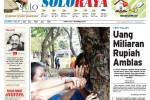 SOLOPOS HARI INI : Soloraya Hari Ini: BMT Kolaps, Atap Gedung BPD Desa Kalimacan Runtuh hingga Kasus Perjudian di Karanganyar
