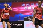 MACAU GRANDPRIX GOLD 2014 : Taklukkan Pasangan Singapura, Edi/Gloria Sabet Juara