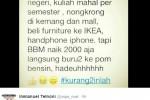 TRENDING SOSMED : Dari #BBMNaik hingga #SalamDuaRibu, Inilah Kumpulan Meme Kenaikan Harga BBM
