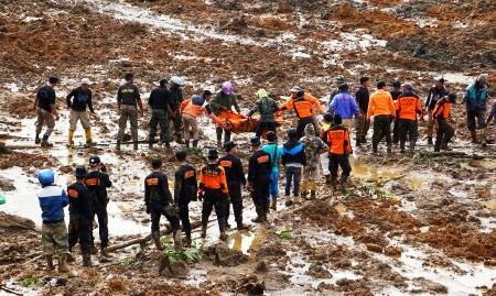LONGSOR BANJARNEGARA : 18 Jenazah Dievakuasi, 96 Korban Belum Ditemukan