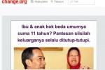 JOKOWI PRESIDEN : Duh, Muncul Petisi Desak Jokowi Tes DNA dengan Sujiyatmi