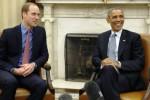 PANGERAN WILLIAM Berkelakar, Tawa Obama Pecah