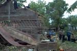 ANGIN KENCANG SRAGEN : Puting Beliung Terjang Karangmalang, 1 Rumah Roboh, 3 Rusak