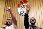 KPK VS PDIP : Hasto: Maaf Datang Tak Pakai Masker!