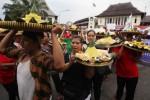 FOTO PASAR GEDE SOLO : Begini Meriahnya HUT Ke-85 Pasar Gede