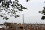 FOTO PERCEPATAN PEMBANGUNAN : Proyek Jalan Layang Bandara Soetta Dipercepat