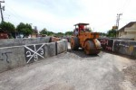 FOTO UNDERPASS MAKAMHAJI : Jalan Sayap Underpass Diaspal Ulang