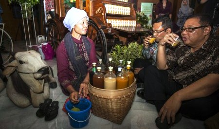 JAMU TRADISIONAL : Produsen Jamu Nguter Kesulitan Modal