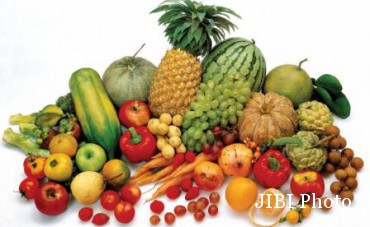 Ilustrasi buah dan sayur (Kaskus.co.id)