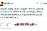 FELIX SIAUW KECAM SELFIE : Felix Siauw Pernah Jadi Juri Lomba Selfie?